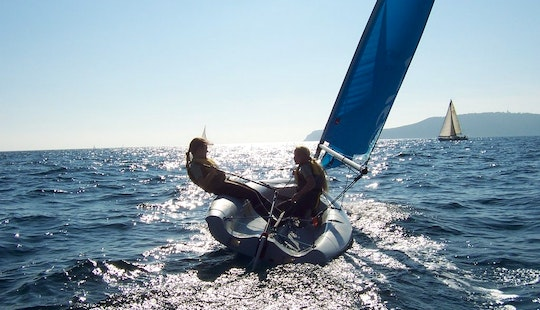 Rent A Laser Pico Beach Monohulls In Liguria, Italy