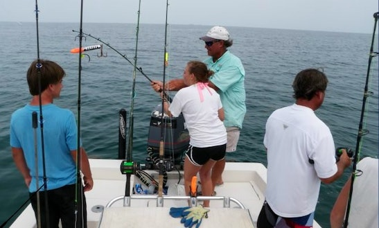 Guided Fishing Boat Trips In Galveston, Texas With Captain Walt