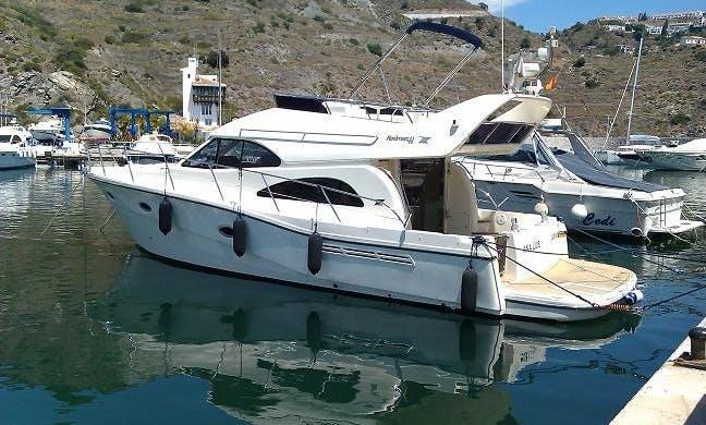 Charter 45' Rodman Flybridge Cruiser In Marbella
