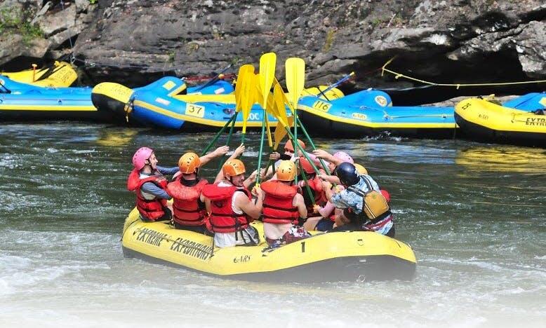 River Rafting Adventure In Oak Hill