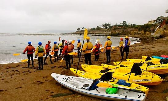 Tandem Kayak Rental In Pismo Beach