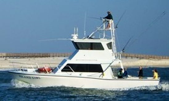 Fishing Charter On 50' Sport Fishing Yacht In Orange Beach, Alabama