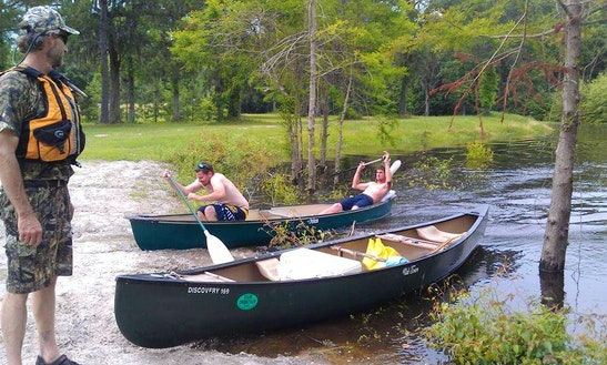 Canoe Rental In Savannah