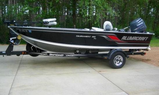 2013 Alumacraft Fishing Boat In Iron River