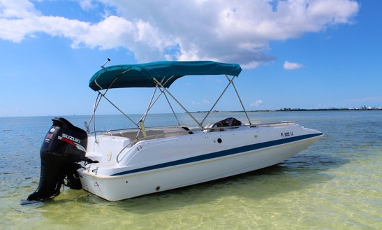 21' Hurricane Deck Boat In Key West, Florida