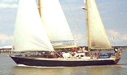 "The ""Faramir "" Yacht In Bradwell-on-Sea"