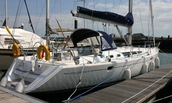 Cruising Monohull 'Sun Odyssey 49' Charter in Haute-Normandie
