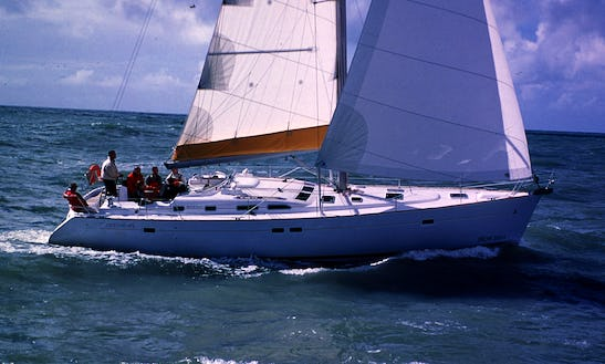 Luxury Cruising Monohull 'oceanis 473' Charter In Haute-normandie