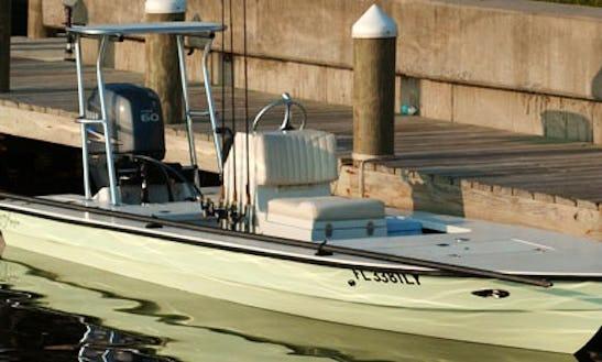 Flat Skiff Fishing Charter In Palm Coast