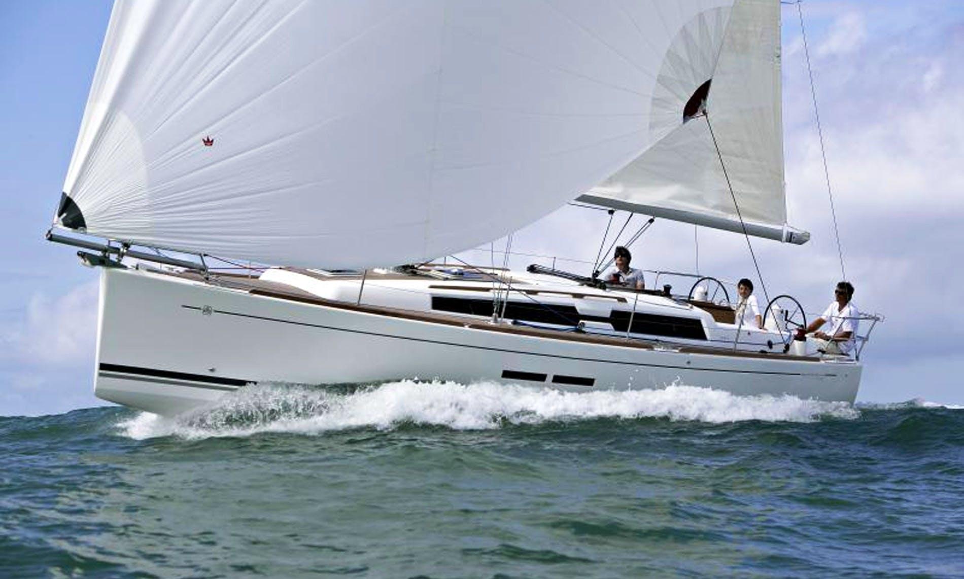 "Charter ""Thais"" Dufour 380 In Gijon, Spain"