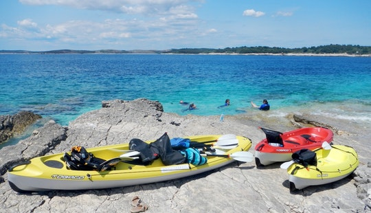 Half Day Kayaking In Premantura, Cape Kamenjak