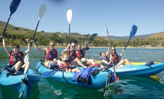 Tandem Kayaking In Santa Barbara