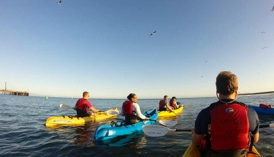 Sunset Kayaking In Santa Barbara