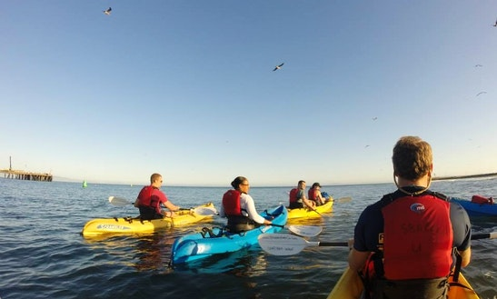 Sunset Kayaking In Santa Barbara