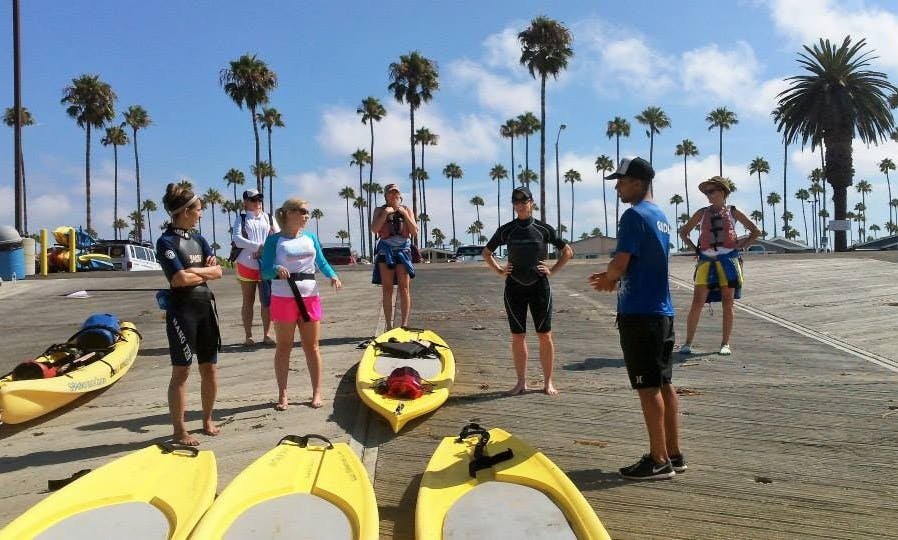 Stand Up Paddle Lesson in Santa Barbara