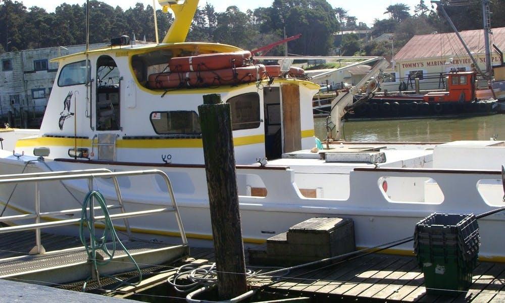 "45' Charter Boat the ""Sea Hawk"" in Fort Bragg"