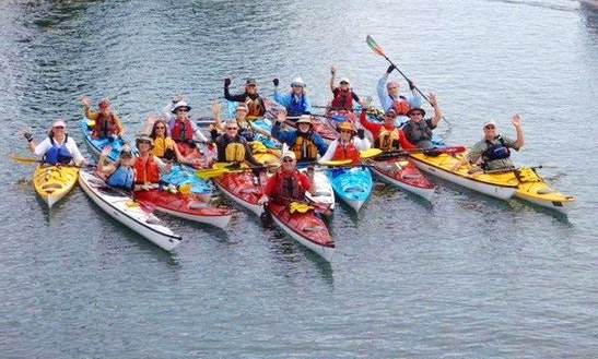 Family Adventure Kayak Tour/rental In Santa Cruz