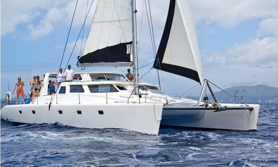 Cruising Catamaran 'windborne' Charter In Tortola