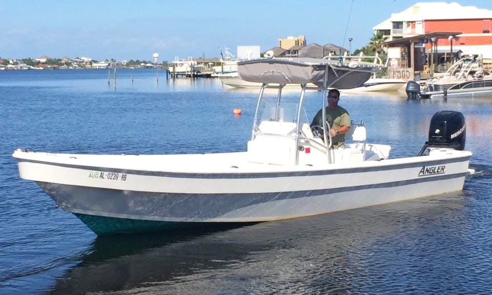 Fishing Charter On 26' Center Console In Orange Beach, Alabama