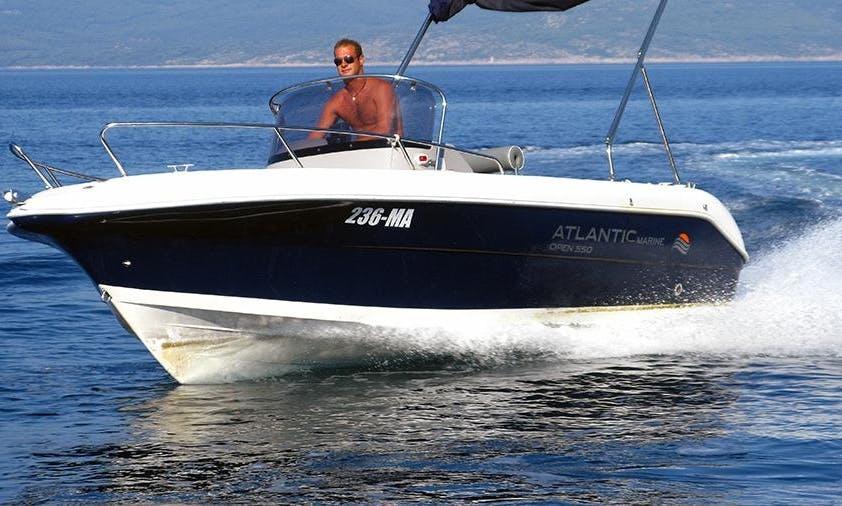 Bowrider Rental in Makarska
