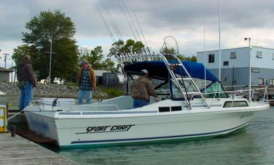 27' Sportcraft Fishing Charter In Ohio