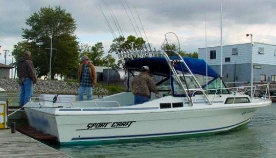 27' Sportcraft Fishing Charter In Ohio