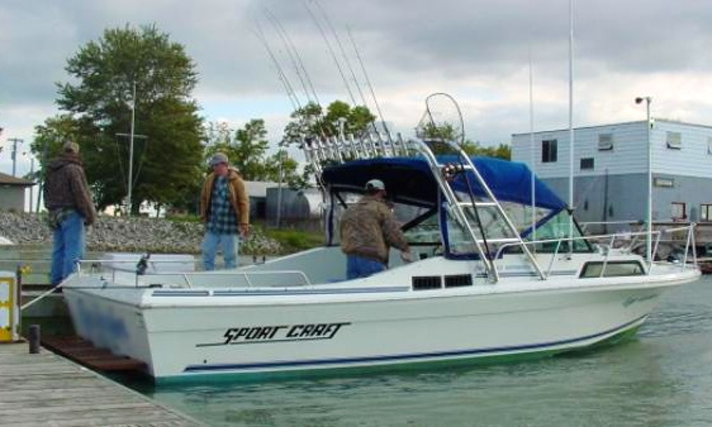 27 39 sportcraft fishing charter in ohio getmyboat for Ohio one day fishing license