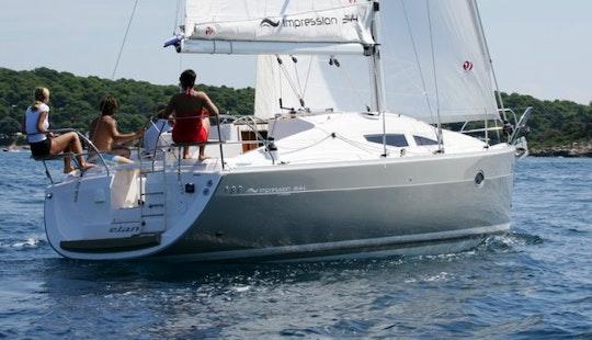 Charter Elan 344 Impression
