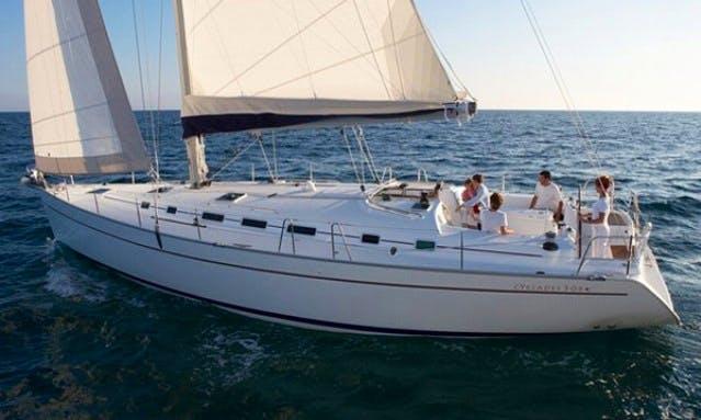 """Beneteau Cyclades 50.5 """"Saphiso III"""" Charter in Betina"""