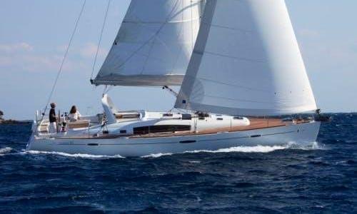 "Luxury Cruising on ""Evita"" Beneteau Oceanis 50 in Soúrpi, Greece"