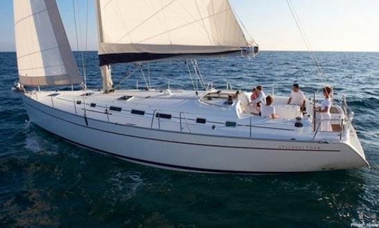 Charter The Luxury Cruiser Beneteau Cycladed 50.5