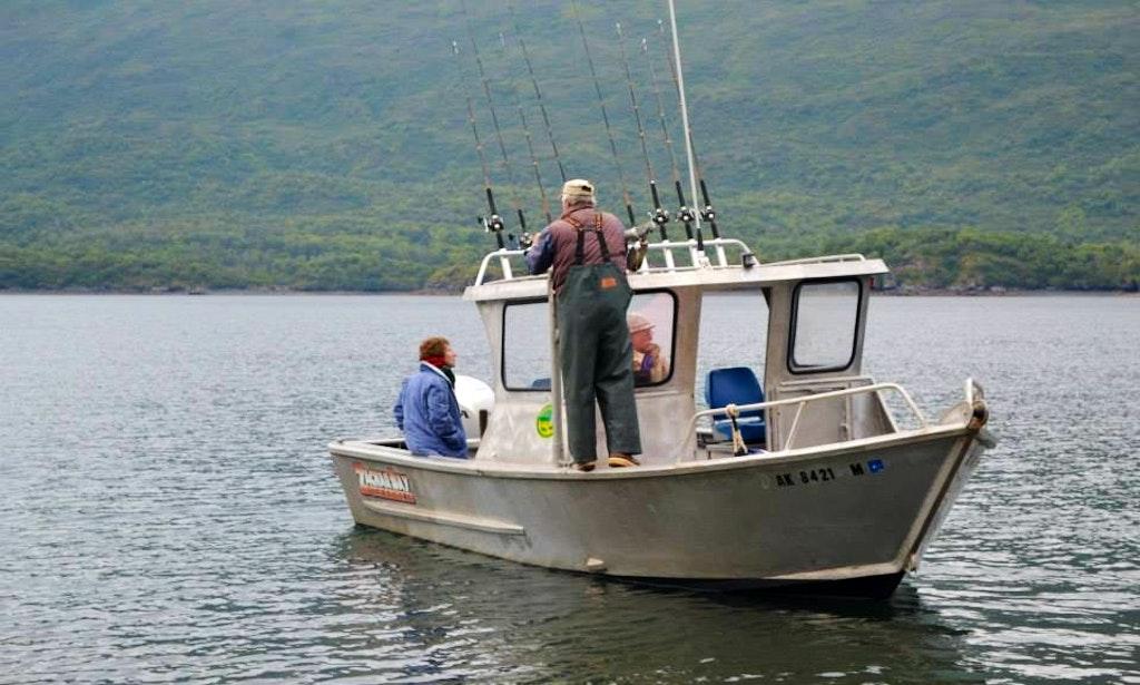 23 39 ocean sport fishing charter in kodiak island alaska for Alaska sport fishing