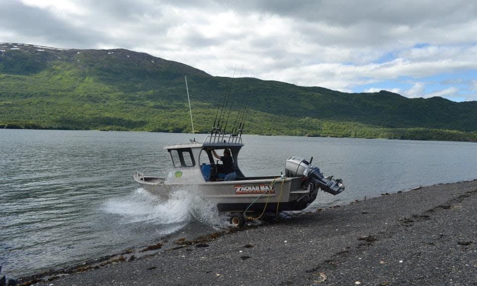23' Ocean Sport Fishing Charter in Kodiak Island, Alaska