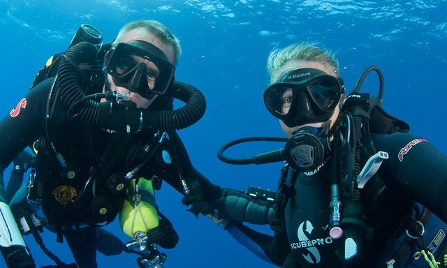 Diving and Diving Courses at Passenger Boat in Porto Ferraio, Italy