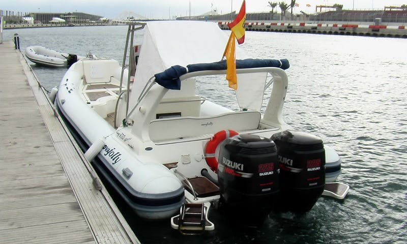 Amazing once in a lifetime trip in Palma, Spain with this Nuova Jolly RIB