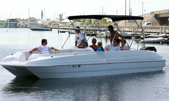 26' Deck Boat Rental In Pittsburg