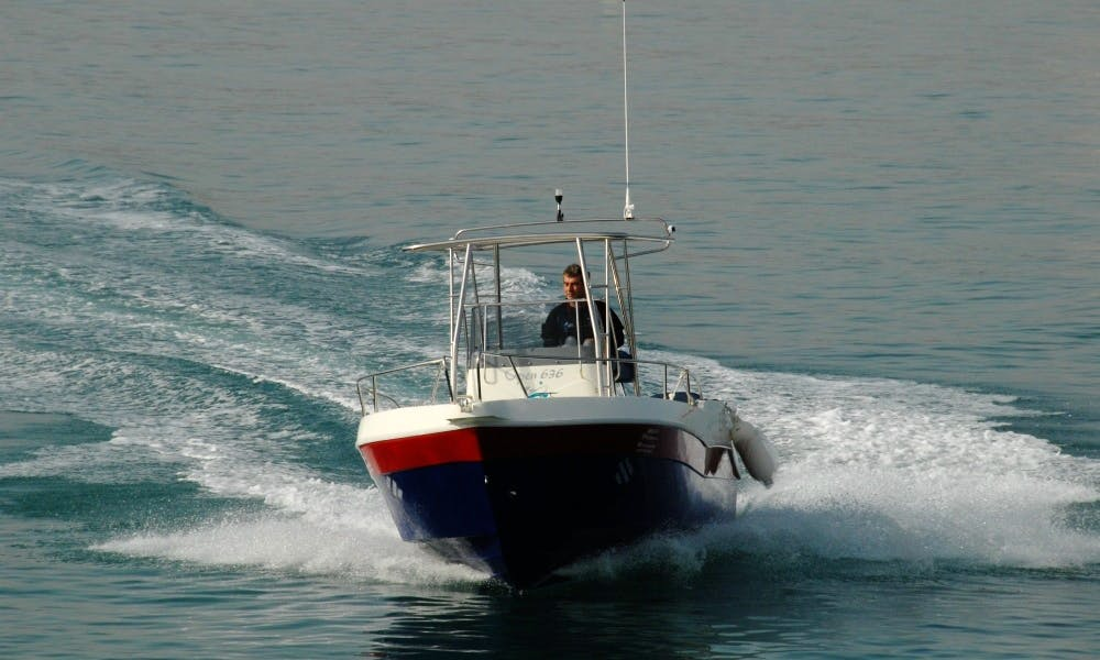 21ft Astilleros Playamar 636 Center Console Rental in Tarragona, Spain