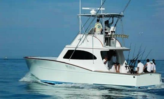 Maverick 42' Fishing Charter In Costa Rica