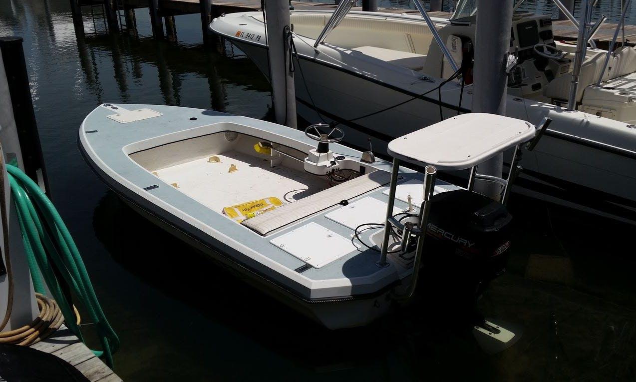 18' Dolphin Flat Boat in Islamorada, Florida