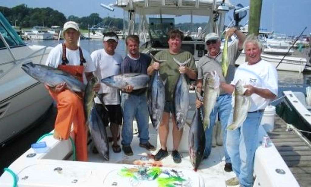 33 39 cuddy cabin fishing charter in new jersey getmyboat for Charter boat fishing nj