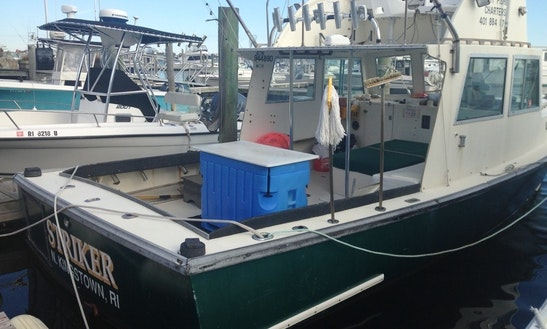 31ft Sportfisherman Boat Charter In South Kingstown, Rhode Island