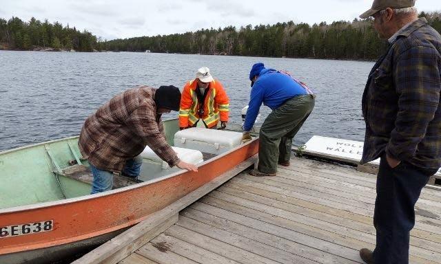 Fishing Trips on Trout Lake, Ontario