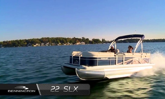 Hit The Water With This Bennington Slx Pontoon In Priest River, Idaho