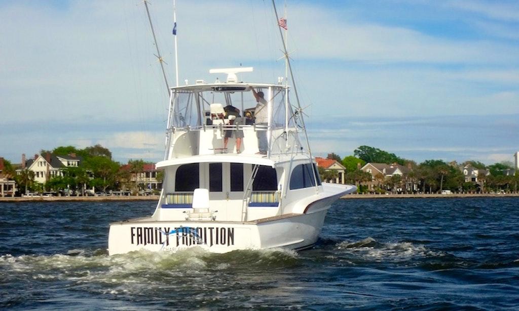 Charter on 54ft carolina custom forbes boat in charleston for Fishing charleston sc
