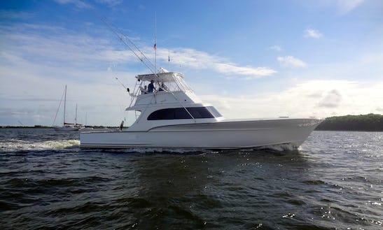 Charter On 54ft Carolina Custom Forbes Boat In Charleston, South Carolina