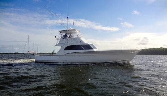 Charter On 54ft Carolina Custom Forbes Boat In Charleston, South Carolina