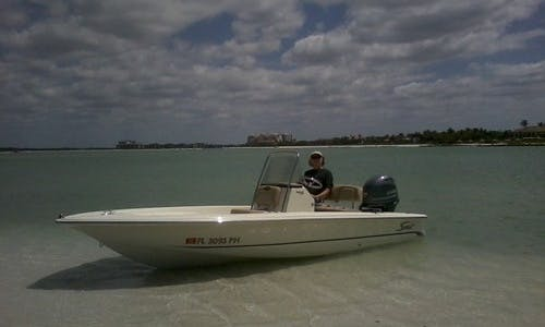 Charleston Fishing Charter With Captain James On 25ft Scout Center Console