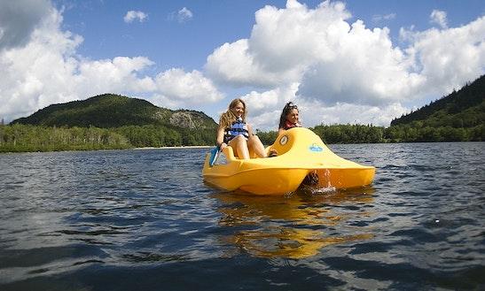 Pedal Boat Rental In Yorba Regional Park