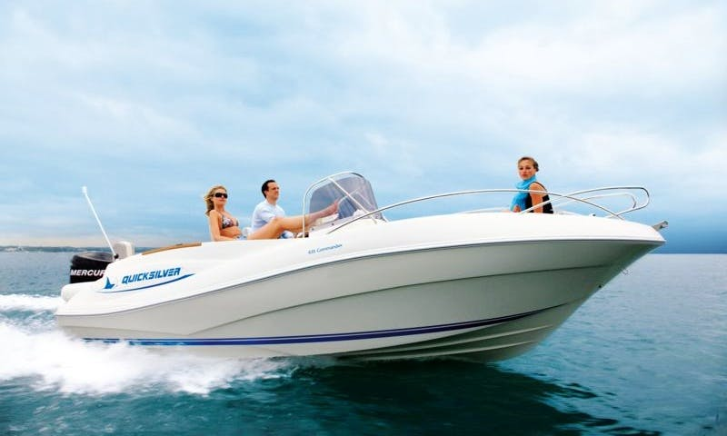 Quicksilver 635 Commander, Speed Boat Rental in Paxi, Corfu, Greece