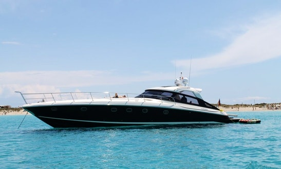 66ft Baia Azzura 63 Luxury Yacht Charter In Ibiza, Spain